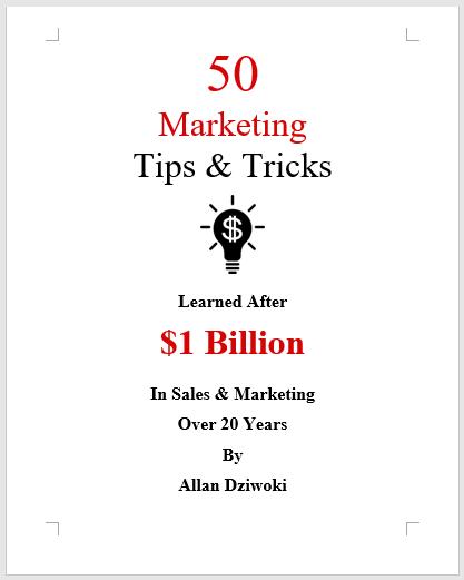 50 Marketing Tips and Tricks for Entrepreneurs